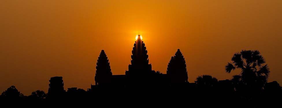 BEAUTIFUL ANGKOR SUNRISE